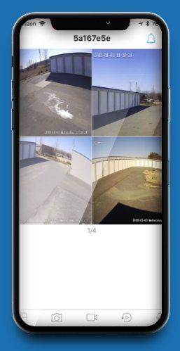 surveillance camera system demo